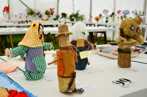 Childrens scarecrows using a one litre plastic bottle II